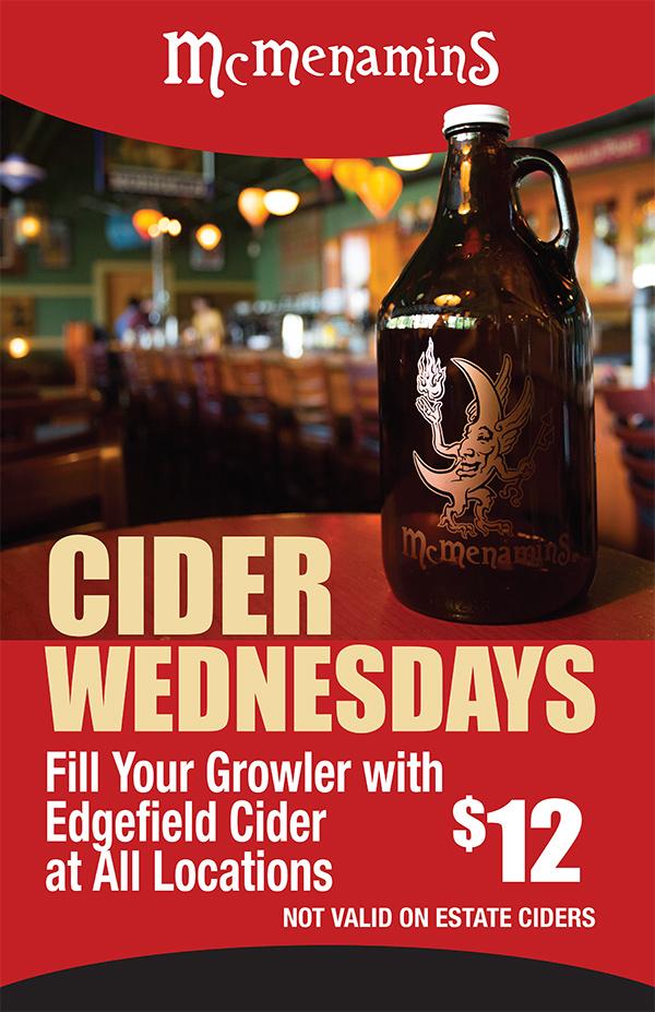 Cider Wednesday Specials