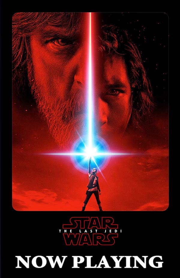 Star Wars: The Last Jedi - Now Playing