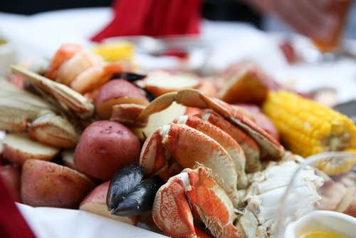 Sand Trap Seafood Boil